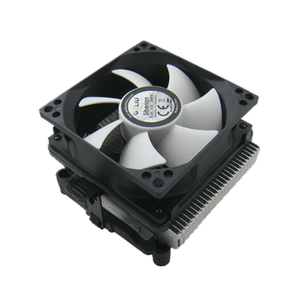CC-Siberian-01, 66mm Height, 82W TDP, Aluminum CPU Cooler