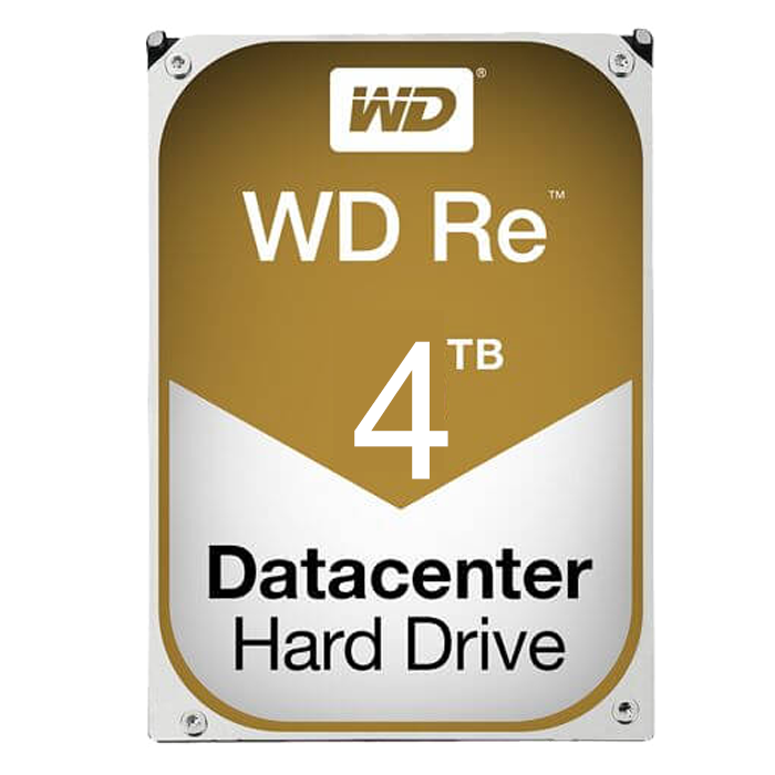 4TB Re Datacenter WD4001FYYG, 7200 RPM, SAS 6Gb/s, 32MB cache, 3.5-Inch HDD