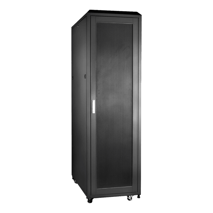 WN4210-EX, 42U, 1000mm Depth, Rack-mount Server Cabinet With Widened Mounting Posts