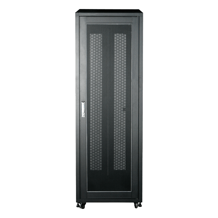 WN368-EX, 36U, 800mm Depth, Rack-mount Server Cabinet With Widened Mounting Posts