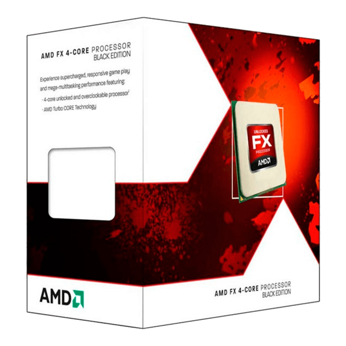 FX-4300 4-Core 3.8 - 4.0GHz Turbo, AM3+, 95W, Retail Processor