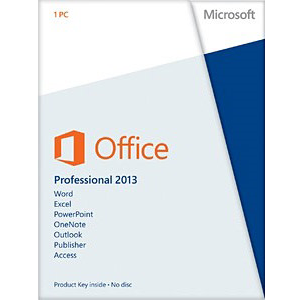 Office Professional 2013, OEM, No Media