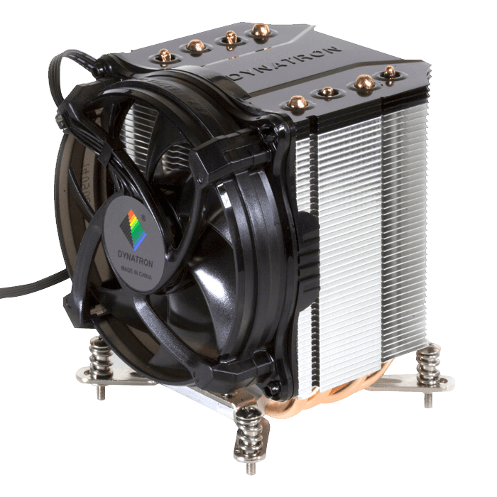 K17, 110mm Height, 105W TDP, Copper/Aluminum CPU Cooler