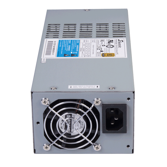 SS-400L2U 400W, 80 PLUS Gold, Full Modular, Single 2U Server Power Supply