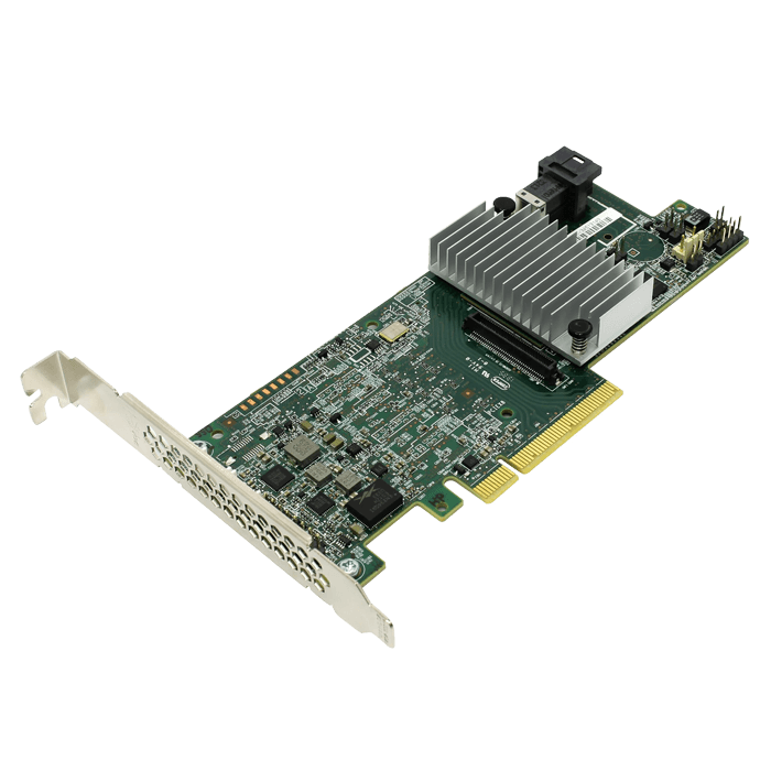 RS3DC040 SAS 12Gb/s, 4-Port, PCIe 3.0 x8, Controller with 1GB Cache