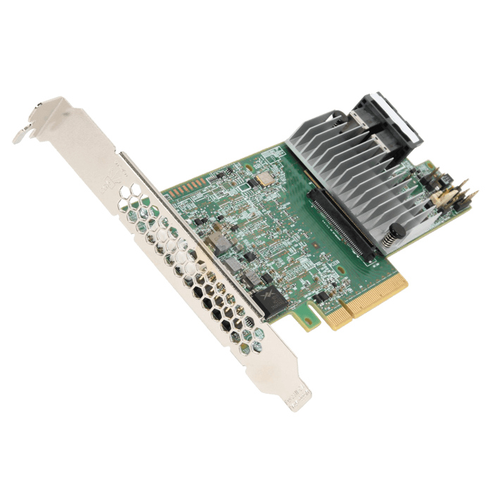 MegaRAID SAS 9361-8i, SAS 12Gb/s, 8-Port, PCIe 3.0 x8, Controller with 1GB Cache