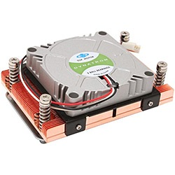 A48G Socket AM2 Active 1U Server CPU Cooler, 7000 RPM, 2 Ball Bearing, Copper