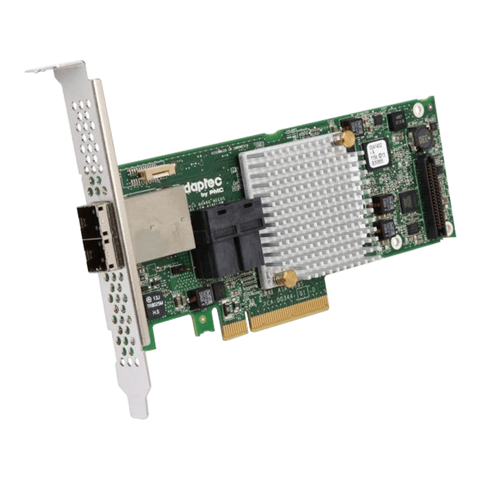Adaptec RAID 8885, SAS 12Gb/s, 16-Port, PCIe 3.0 x8, Controller with 1GB Cache