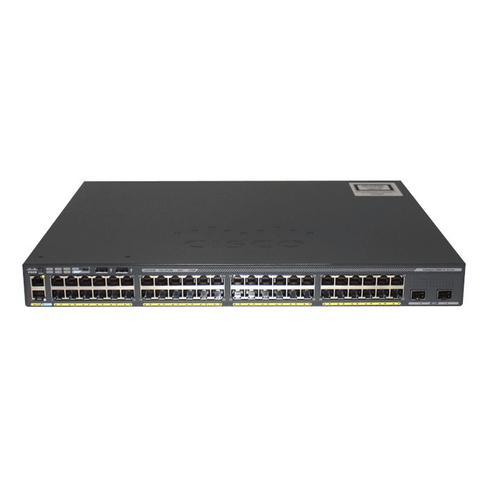 Catalyst 2960-X Switch, 48 x RJ45 10/100/1000, 2 x 10G SFP+, Ethernet Switch