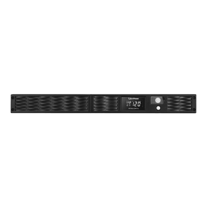 Smart App Sinewave PR750LCDRT1U, 750VA/600W, 120V, 7 Outlets, Black, Tower/1U Rackmount UPS
