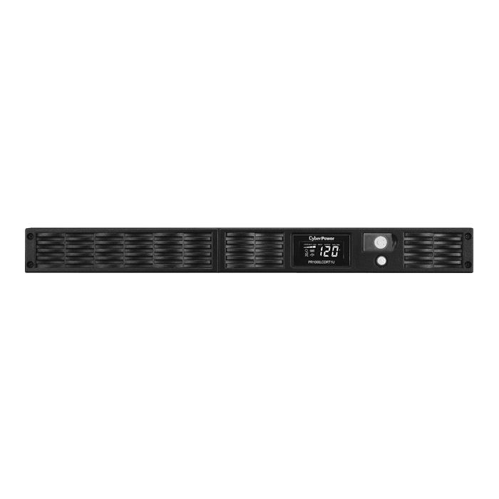 Smart App Sinewave PR1000LCDRT1U, 1000VA/800W, 120V, 7 Outlets, Black, Tower/1U Rackmount UPS