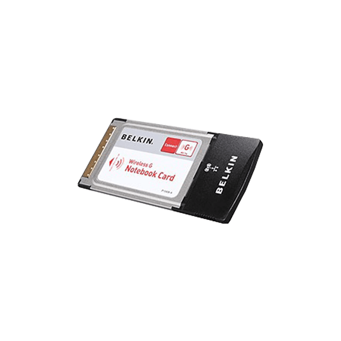 F5D7010 Wireless G Notebook Card, 802.11g, 11Mbps, PCMCIA, 32-bit CardBus