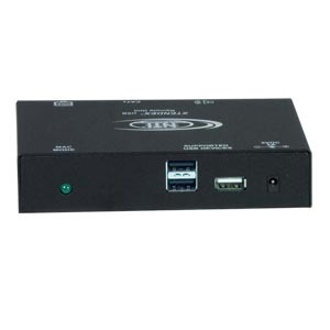 CAT5 VGA USB KVM + Stereo Audio + Additional USB Port Receiver, 1,000 ft