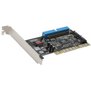 SD-VIA-1A2S PCI to 2x SATA 2.0 and 1x IDE Controller, Retail
