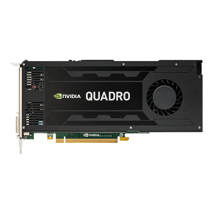 Quadro K4200 VCQK4200-PB, 4GB GDDR5 256-Bit, PCI Express 2.0 Graphics Card