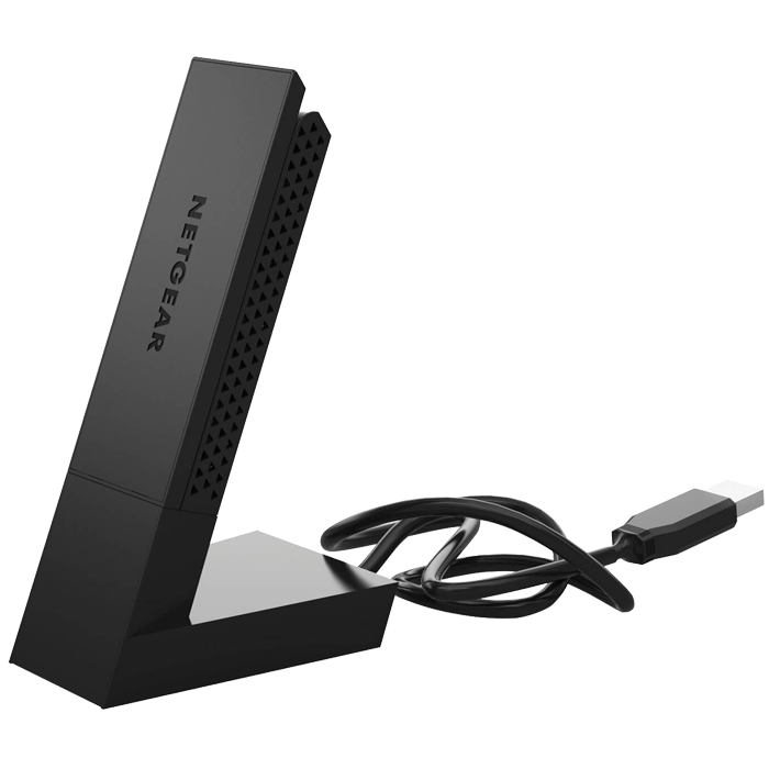 A6210, External, Dual-Band 2.4 / 5GHz, 300 / 867 Mbps, USB, Wireless Adapter