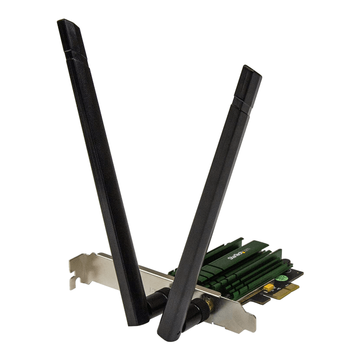 PEX867WAC22, Internal, Dual-Band 2.4 / 5GHz, 300 / 867 Mbps, PCI Express 2.0 x1, Wireless Adapter