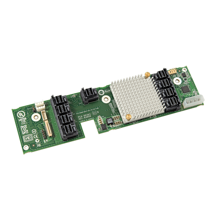 RES3TV360, SAS 12Gb/s, 36-Port, Mid-Plane Board, RAID Expander