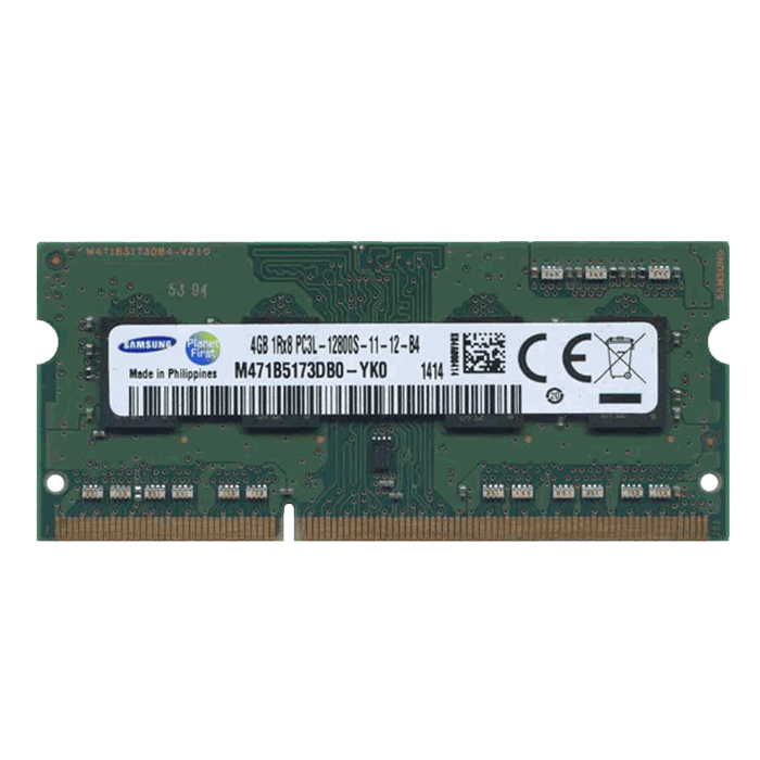 4GB (M471B5173BH0-YK0) DDR3 1600MHz, CL11, SO-DIMM Memory