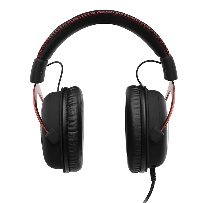 HyperX Cloud II, Virtual 7.1 Surround Sound, 3.5mm/USB, Black/Red, Gaming Headset