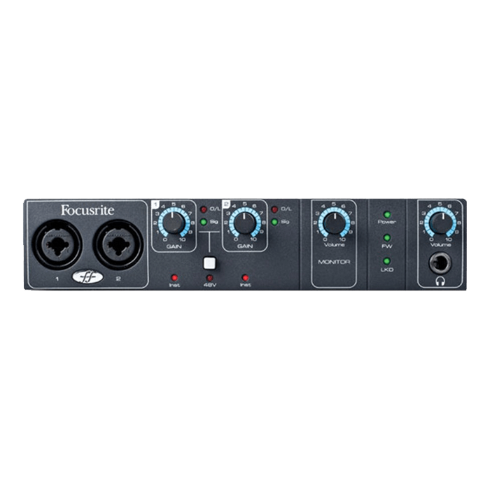 Saffire PRO 14 - 8 in / 6 out Firewire audio interface featuring two preamps