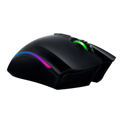 Mamba, RGB LED, 16000dpi, Wireless/Wired USB, Black, Laser Gaming Mouse