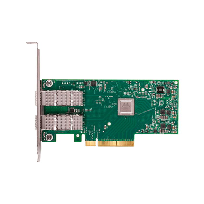 10Gbps Ethernet Network Adapter, ConnectX-4 Lx EN MCX4121A-XCAT (2x SFP28)