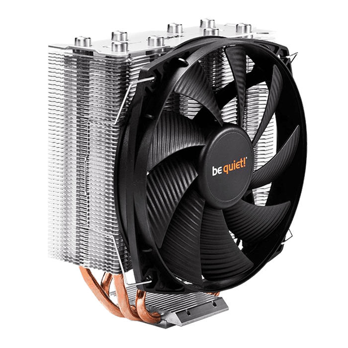 Shadow Rock Slim, 161mm Height, 160W TDP, Copper/Aluminum CPU Cooler