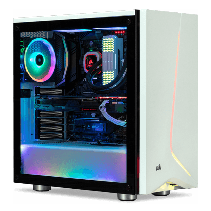 AMD B450 Tower Gaming Desktop