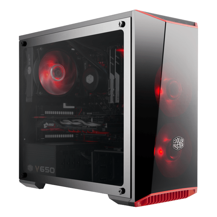 AMD B550 Mini Gaming Desktop