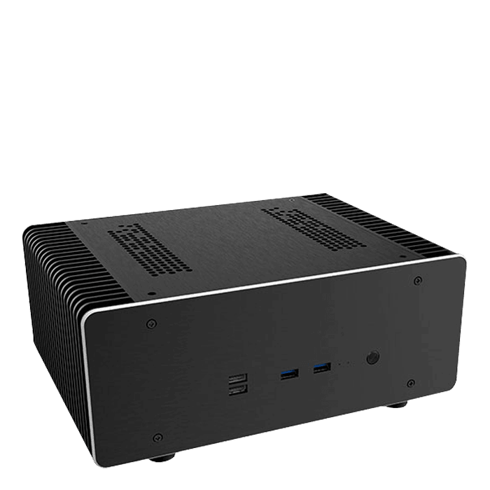 Intel B460 Fanless Home Theater PC