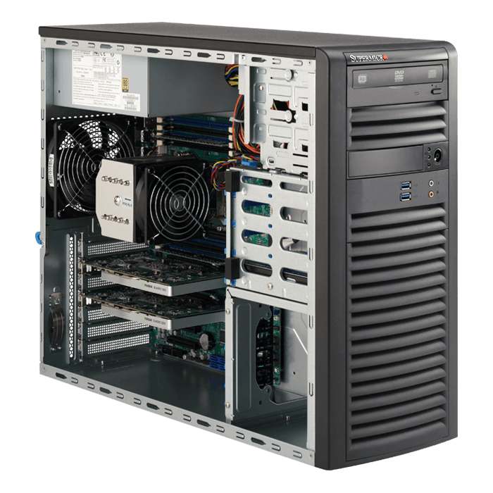 Supermicro 5038A-I Workstation PC