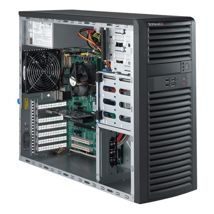Supermicro 5039A-IL Workstation PC