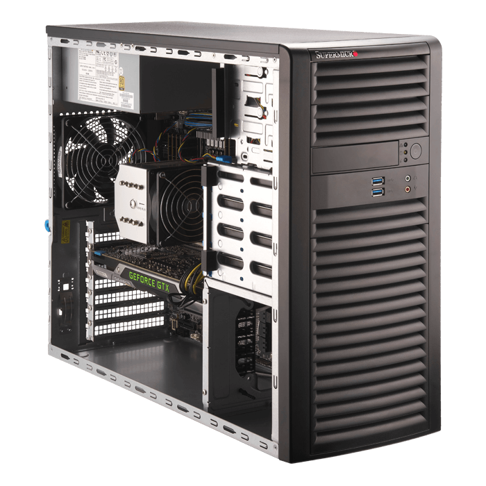 Supermicro 5039A-I Workstation PC