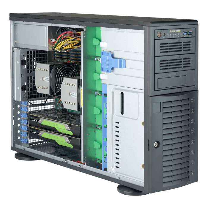 Supermicro 7049A-T Workstation PC