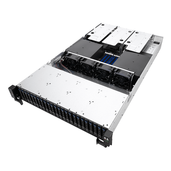 ASUS RS720-E9-RS24-E, 2nd Gen Xeon® Scalable, SATA/SAS 2U Rackmount Server  Computer