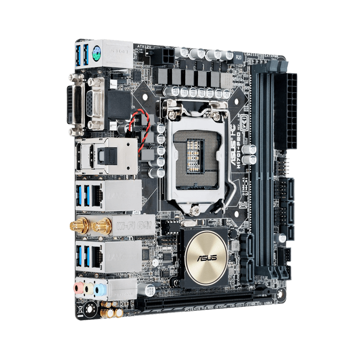 ASUS H170I-PRO/CSM Intel H170 Chipset Mini-ITX Retail ...