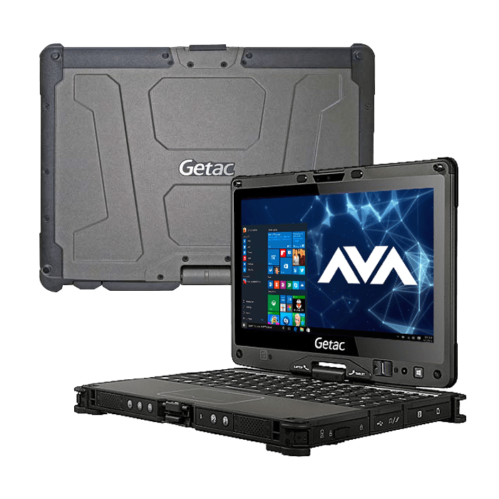 Rugged Notebook   Getac V110 G3 Core™ I7 / I5 Fully Rugged Notebook, 11.6