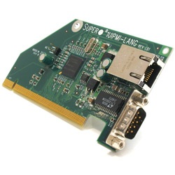 AOC-1UIPMI-LANG Proprietary Add-On Card for AOC-1UIPMI-B IPMI-over-LAN  Controller, 3rd Gigabit LAN + RS-232 Ports