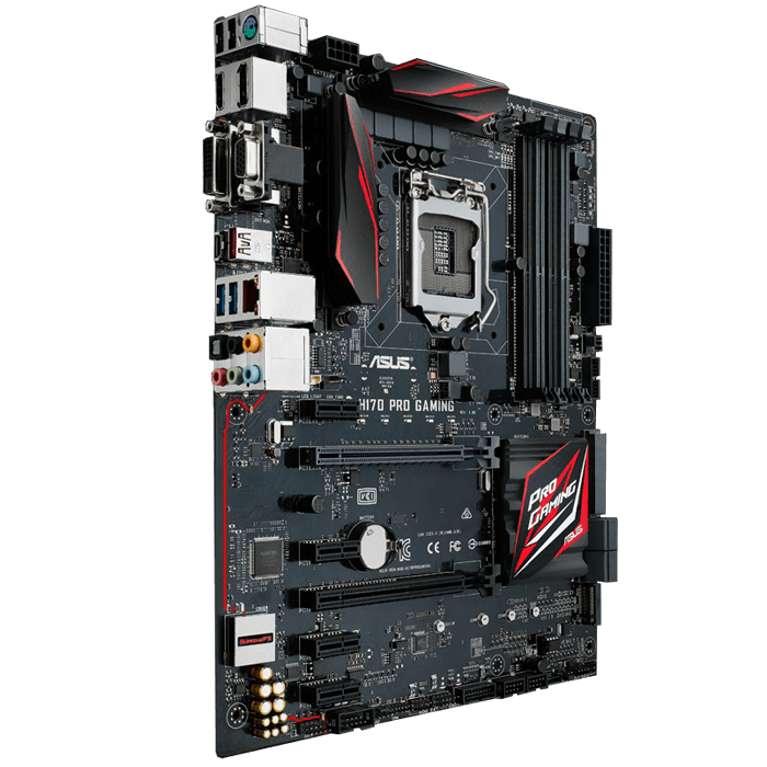 ASUS H170 PRO GAMING H170 1151 DDR4 64GB ATX Motherboard ...