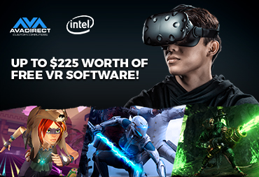 Up to $225 in FREE VR Software with Purchase of Select Intel-Based PCs