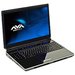 "AVADirect Introduces the P180HM 18.4"" Full HD High-End Gaming Notebook."