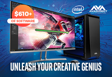 Unleash Your Creative Genius with $610+ of FREE software when your purchase a qualifying Intel Core i7+ Device!