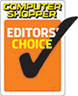 Computer Shoppers - Editor Choice Award