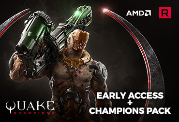 "Get early access to QUAKE CHAMPIONS and receive the ""Champions Pack"" FREE"