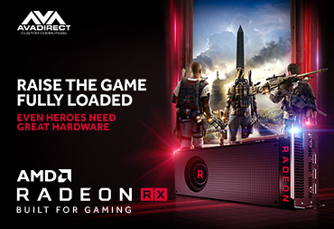 RAISE THE GAME FULLY LOADED. EVEN HEROES NEED GREAT HARDWARE.