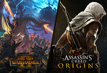 Receive Assassin's Creed: Origins and Total War: Warhammer II FREE.