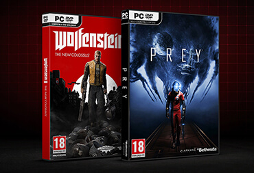 Get Wolfenstein® II: The New Colossus™ and Prey Free.