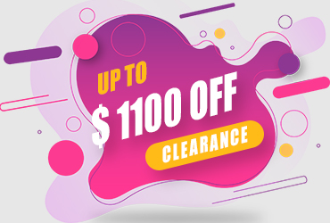 Browse our Clearance Section for up to $1100 off!