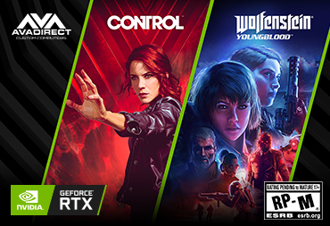 GET CONTROL AND WOLFENSTEIN: YOUNGBLOOD